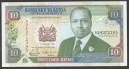 KENYA.  : Banconota 10 Schillings - 1992 - P24d - XF - Kenya