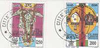 Vatican City-1996 Religious Anniversaries Used Set - Vatican