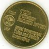 ISRAELE LOTTO DI 5 MEDAGLIE MEDAGLIE PER IL RITORNO DELLA CITTA' DI GERUSALEMME AD ISRAELE 1984 FDC - Non Classificati