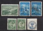 Rumänien; 1930/2; Michel 378, 419, 436 Und 456 O; 75 Jahre Rumänische Marken; Lot 6 Stück - Used Stamps