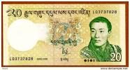 "20 Ngultrum ""BHOUTAN""     2006  UNC  Bc129 - Bhoutan"