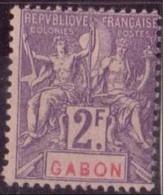 GABON N° 31* NEUF AVEC CHARNIERE