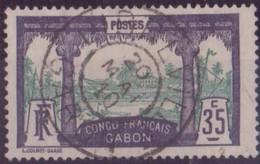 GABON N° 41 OBLITERE