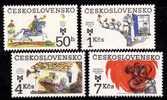 Tchécoslovaquie 1983 N°Y.T. : 2542 à 2545** - Nuovi