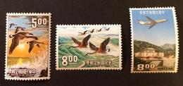 TAIWAN Formose Poste Aérienne YT 1954 N°2-3-4 1967  N°14 1969 N°16-17 - Taiwán (Formosa)