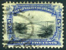 US #297 Used 5c Pan-Am Expo From 1901 - United States