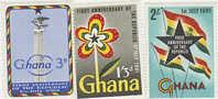 Ghana-1961 First Anniversary Of The Republic MNH - Ghana (1957-...)