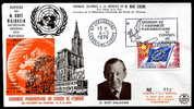 12970) Europarat  - Brief - Maschinenwerbe-Stempel 04.05.1976 - Briefe U. Dokumente