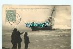 B - BATEAUX - BATEAU - Naufrage D´un Voilier RUSSE Le Saluto Sur La Plage De MERS - RUSSIE - Sailing Vessels