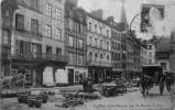 La Place Victor Hugo Un Jour De Marché - Lisieux