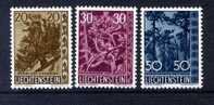 1960 COMPLETE SET MNH ** - Liechtenstein