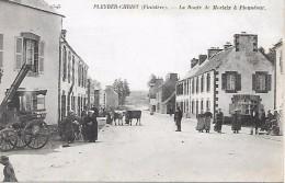 PLEYBER - CHRIST   - La Route De Morlaix à Plounéour - Unclassified