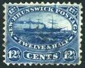 New Brunswick #10 Used 12-1/2c Steam & Sailing Ship From 1860 - New Brunswick