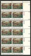 USA. Scott # 1563 MNH Plate Block Of 12. Lexington Concord Battle 1975 - Plate Blocks & Sheetlets