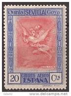 ES521-LAB062TPG.Aguafuerte De GOYA  1930 (Ed 521*) Nuevo, Con Charnela - Grabados