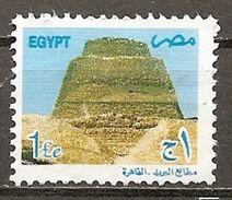 Egypt. Scott # 1757 Mint No Gum. Pyramid At Snefru. 2000 - Egypt