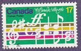 Scott # 857 O Canada - Gebruikt