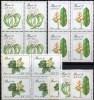Naturschutz 1989 Brasilien Block 36 ** 37€ Umwelt-Schutz Der UNO Bloques Hojita M/s Flora Blocs Flowers Sheets Bf Brazil - Landwirtschaft