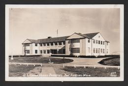 US3) US Coast Guard Barracks - Port Angeles - 1945 - Real Photo Postcard By J. Boyd Ellis - Etats-Unis
