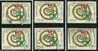 ITALIA Rep. 1973 - STATO - N. 1216 Usati , Serie Compl. - Cat. 1,5 €  L. 3464 /65 /68 - 6. 1946-.. Repubblica
