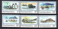 SS2582 3  - ROSS , Due Serie Complete  ** - Dipendenza Di Ross (Nuova Zelanda)