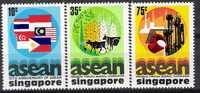 Singapore 1977 10th Anniversary Of A.S.E.A.N.  - Serie Nuova Illinguellata - New -  MNH - Singapore (1959-...)