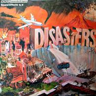 * LP *  SOUND EFFECTS: DISASTERS (BBC 1977 Ex-!!!) - Vinylplaten