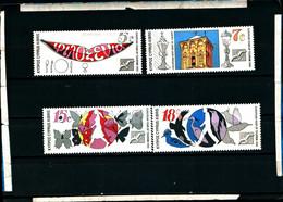 40924)francobolli CIPRO Serie 1990 - Turismo , Anno Europeo - Dentellati - Non Classificati