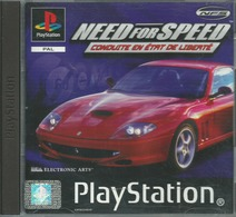 ** JEU PS1 NEED FOR SPEED CONDUITE EN ETAT DE LIBERTE BON ETAT - Sony PlayStation