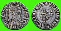 [DO] NAPOLI - Carlo I ´Angiò (1266-78) SALUTO D´ARGENTO (Argento /Argent) - Regional Coins
