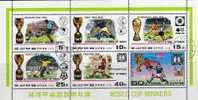 Gewinner Der Fussball WM Korea 1747/53+ Kleinbogen  O 21€ Sieg Von 1930 Bis 1978 - Korea (...-1945)