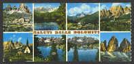 A253 Cartolina Con Le Dolomiti – Formato Mignon / Viaggiata 1973 - Altre Città