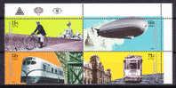 Argentina 2000 Yv. 2205/ 08 Means Of Transport MNH - Argentina