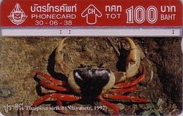 Télécarte Magnétique Thaïlande L&G - CRABE - CRAB Phonecard - KRABBE Telefonkarte - 19 - Telefoonkaarten