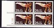 U.S. 2380 X 4   **   OLYMPICS  RINGS - United States