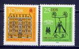 DDR Nr.2308/9   ** Mint   (8598)  (Jahr:1978) - [6] Democratic Republic