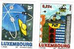2002 Lussemburgo - 50 Anni Della Posta - Luxemburg