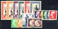N° 338 à 352 Neuf * TB (Cote +55€)