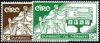 Ireland #169-70 Mint Never Hinged 21st Anniv. Constitution Set From 1958 - 1949-... Repubblica D'Irlanda
