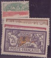 DEDEAGH N° 10/16* NEUF AVEC CHARNIERE - Dedeagh (1893-1914)