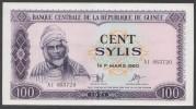 GUINEA  (République De Guinée )  : 100 Sylis - 1971 - P19 - XF - Guinea