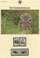 WWF-Set 49 Antigua 1010/3 **, 4FDC+ 4MKt. 32CHF Riff-Fische Der Karibik Dokumentation - Collections (en Albums)