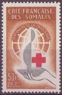 COTE DES SOMALIS N° 315** NEUF SANS CHARNIERE - Côte Française Des Somalis (1894-1967)