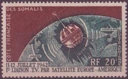 COTE DES SOMALIS N° 33**  PAR AVION NEUF SANS CHARNIERE - Côte Française Des Somalis (1894-1967)