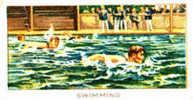 Image Cartonnée Début 20° Siècle  /  Swimming  /  Natation /  Weissmuller - Natation