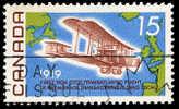 Canada (Scott No. 494 - Alcock-Brown Flight) (o) P4 - 1952-.... Règne D'Elizabeth II