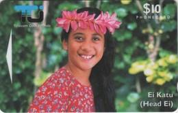 *ISOLE COOK - 02CIC* - Scheda Usata - Cook Islands