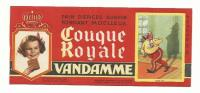 Buvard Vandamme Couque Royale Louis XVIII - Pan Di Zenzero