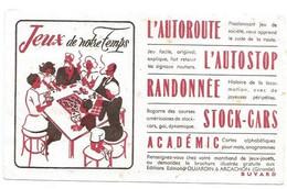 Buvard Jeux De Notre Temps - Löschblätter, Heftumschläge