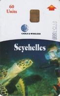 *IS. SEYCHELLES* - Scheda Usata - Seychelles